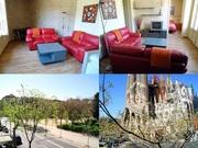 Фантастическая квартира Барселонa-Испания