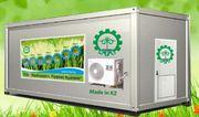 Гидропонное оборудование для выращивания готового корма. Риддер